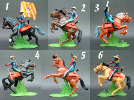 Buffalo Soldiers mounted