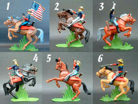 7th. Cavalry Mounted