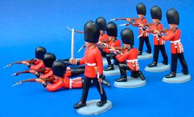 Royal Guard Shot line