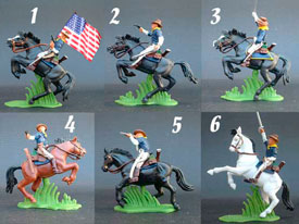 Rough Riders mounted