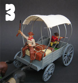 Supplies wagon