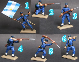 Argentinean troops Set