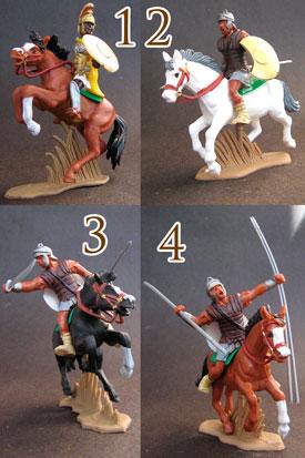 Carthaginians on horseback set