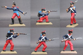 Foreign Legion 1831, foot set