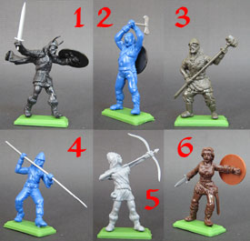 Vikings Unpainted set